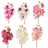 3D Artificial Butterfly Orchid Flower Home Wedding Party Car DIY Home Decorations