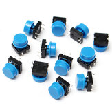 100Pcs Tactile Push Button Switch Momentary Tact Caps
