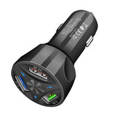 Quick Charge QC3.0 Fast Car Charger 3 USB Interface Multifunctional Protection