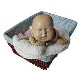 生まれたばかりの赤ちゃんの写真の小道具