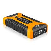 98600mAh 12V Car Jump Starter Multifuncional Portátil 4USB Power Bank Emergency Bateria Booster braçadeira 600A Auto Power Bank