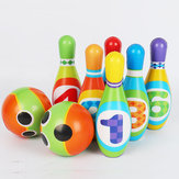 Kids Bowling Play Set Gift Toys Boy Girl Birthday Gift