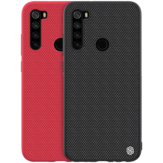 For Xiaomi Redmi Note 8 NILLKIN Anti-fingerprint Anti-slip Nylon Synthetic Fiber Textured Protective Case Non-original