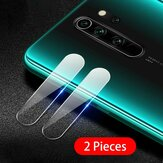 Bakeey 2PCS Anti-scratch HD Clear Tempered Glass Phone Camera Lens Protector for Xiaomi Redmi Note 8 Pro Non-original