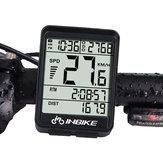 INBIKE IN321バックライト自転車コンピューター防水ワイヤレスLCD走行距離計自転車スピードメーター