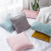Chenille Throw Pillow Case Cushion Cover Seat Sofa Case Home Bedroom Decor 45 x 45cm