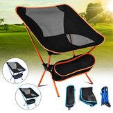 Outdoor Klappstuhl Tragbare Campingstühle Leichte Klapprucksack mit Tragetasche für Outdoor, Camping, Angeln, Strand, Reisen