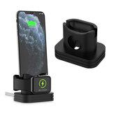 3 in 1 telefoonhouder horloge oplaadhouder oortelefoonhouder voor iPhone Apple Watch-serie Apple AirPods
