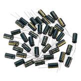 50Pcs 25V 2200UF 10 x 25MM Высокочастотный радиальный электролитический конденсатор ESR