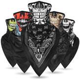 Sun-protection Skull Ice Silk Breathable Multi Use Scarf Face Mask Head Wear Hat Motorcycle Cap