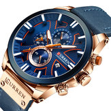 CURREN 8346 Chronograph Sport Men Wrist Watch