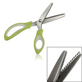 Professional Stainless Steel Pinking Shear Tailor Sew Cloth Making Scissors Tool
