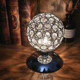 Nowoczesna kryształowa lampa stołowa Lampka nocna Sypialnia Lampka nocna na biurko Lampa dotykowa