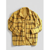Mens Vintage Corduroy Buttons Single Breasted Casual Jacket