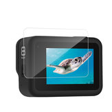 TELESIN GP-FLM-802 2 Set 9H Tempered Touch Screen Lens Protective Film for GoPro Hero 8 Black Action Camera