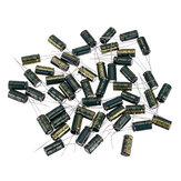 50 piezas 10 V 2200 UF 10 x 20 mm condensador electrolítico radial de baja frecuencia de alta ESR