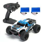 2 Batteries Version HS 18301/18302 1/18 2.4G 4WD Voiture tout-terrain RC pour véhicules tout-terrain RTR jouets