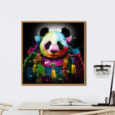 Miico Handgeschilderde olieverfschilderijen Dier Panda Schilderijen Wall Art For Home Decoration