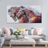 Modern Canvas Print Horse Paintings Picture Wall Mural Hanging Decor Unframed