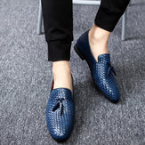 Genuine Leather Snake Pattern Elegant Business Oxfords