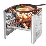 IPRee® Venkovní pěnový grilovací gril Gril Vaření Kamna na dřevo Pec na pece
