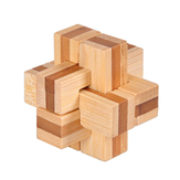 3D Interlocking Puzzles Game Toys Jigsaw Puzzle Toy Bamboo Small Size For Adults Kids IQ Brain Teaser Kong Ming Lock