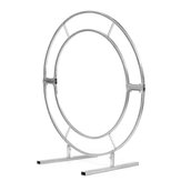 1.2m/1.5m/2m Circle Arch Framework Metal Round Wedding Party Romantic Backdrop