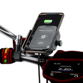Bakeey 15 Qi Wireless Charger Quick Charge 3.0 Motorbike Motorcycle Handlebar Phone Holder for 4.0-6.5 Inch Qi-enabled Smart Phone
