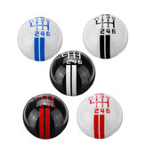 6 Speed كتيب Gearstick Lever Gear Shift Knob Universal for Ford Mustang MT