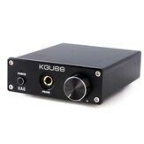 KGUSS HA6 2x50W TPA3116D2 HIFI bezstratny cyfrowy wzmacniacz audio wzmacniacz słuchawkowy