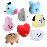 Para KPOP BTS BT21 TATA SHOOKY RJ SUGA COOKY JIMIN Bed Plush Pillow Doll