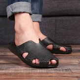 Men Casual Home Indoor Slip On Slippers