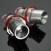 10W LED ملاك عيون هالو الدائري الأنوار لمبة في canbus خطأ زوج الحرة لسيارات bmw e65 e66 e67 e39 e63 e64