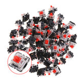 120PCS Pack 3Pin Gateron Linear Red Switch Switch Keyboard para Mecânico Gaming Keyboard