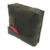 Outdoor Travel Tactical Belt Bag 1000D Nylon Medical Waist Bag Lifesaving Bag