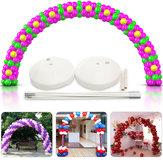 DIY Large Ballon Arch Set Säulenständer Basisrahmen Satz Geburtstag Hochzeitsfeier Dekor
