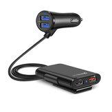 Universal 4 Portas USB Car Fast Charger QC3.0 Carregador Rápido Adaptador USB