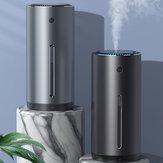 Baseus 380ml USB超音波加湿器アロマエッセンシャルオイルディフューザーカーホームオフィス用空気清浄機