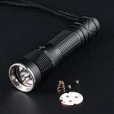 Konvoi S12 Taschenlampe Host DIY LED Taschenlampe Shell Host Taschenlampe Zubehör