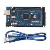 2Pcs MEGA 2560 R3 ATmega2560 MEGA2560 Development Board With USB Cable Geekcreit for Arduino - products that work with official Arduino boards