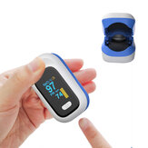 BOXYM YK-80X Mini OLED vingerklem pulsoxymeter Home Heathy Blood Oxygen Saturation Monitor