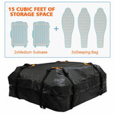 Waterproof Car Roof Top Rack Carrier Cargo Bag Luggage Bag Storage Cube Bag Travel