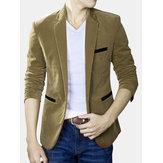 Pánská móda pro volný čas Slim Fit Suit Coat Blazers