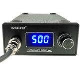 KSGER T12 Soldeerstation STM32 Digitale controller ABS Case 907 Soldeerbout Handgreep Auto-slaap Boostmodus Verwarming T12-k Tip