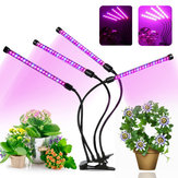 4 Heads 72 LED 36W Plant Growing Lamp Flower Grow Light for Indoor Hydroponics