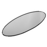Oval Car Rear View Mirror Auto Dimming Replacement Glass Cell Repair For BMW E46 M3 E39 M5