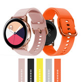 Bakeey 20mm Ancho Silicona Reloj Banda Reemplazo de correa para Samsung Galaxy Watch Active 2/Samsung Galaxy Watch 42mm