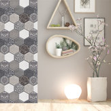 5 / 10st Home Decor 3D stenen muursticker zelfklevende behangdecoraties