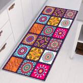 Floor Mat Rugs Non-slip Kitchen Home Bathroom Door Entrance Carpet Bohemian 40*60CM/60*90CM/60*180CM