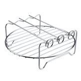 6db 9 hüvelykes tapadásmentes légsütő tartozékok készlet sütemény Pizza BBQ sült sütőeszközök 5,3-6,8QT légsütőhöz